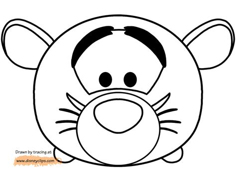 Coloring Tsum Tsum by Tsum Tsum Coloring Pages 37 Coloring Pages For