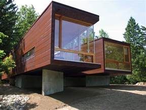 Stunning Space Frame Houses by Modular Frame Prefab Cottage Michigan Usa Floor Plans