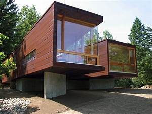 Kullman Frame System modular house, Michigan: Modern ...