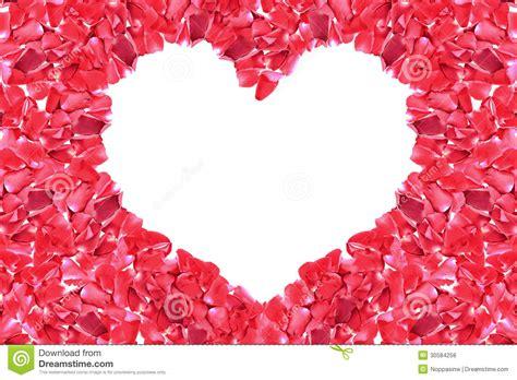 cadre de forme de coeur de de photos libres de droits image 30584258