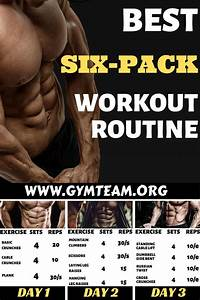 Best Six Pack Abs Workout Routine