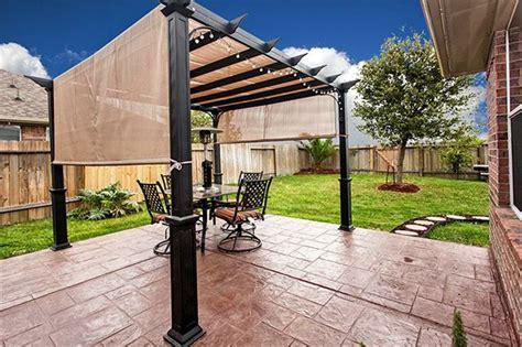 concrete patio with pergola sted concrete patio with pergola for the home