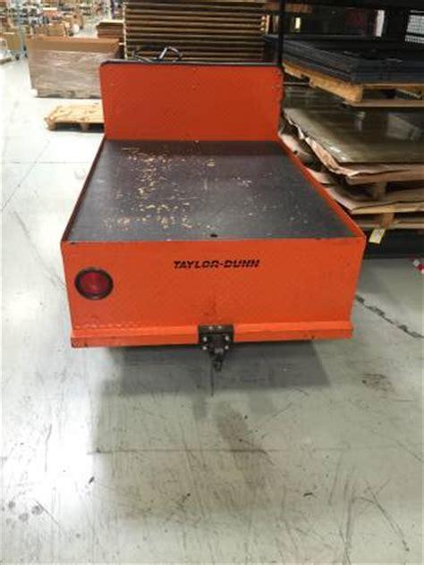 dunn 36 volt flatbed cart used dunn call