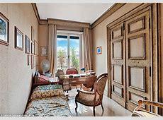 Italian film director Federico Fellini's Rome apartment