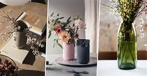 vase design notre selection tendance marie claire With chambre bébé design avec bouquet de fleurs dans un vase