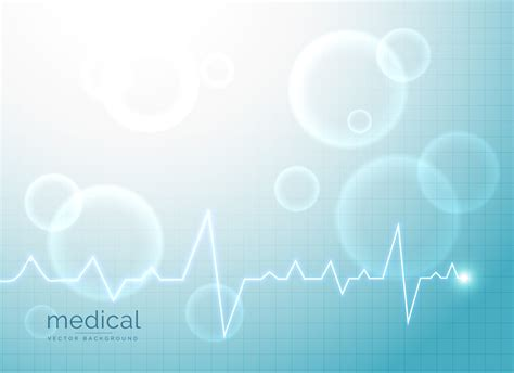 medical abstract background  electrocardiogram