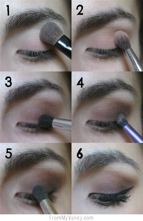 daytime smokey eye tutorial step  step instructions