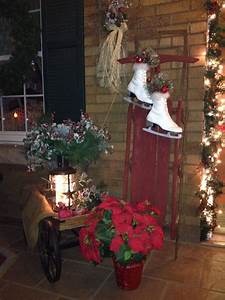 Country, Christmas, Porch