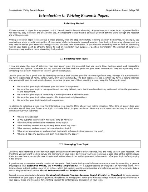 Intro To Writing A Paper by 10 Introduction For Research Paper Exle Sle