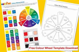 Free School Paint Colour Mixing Guide For Kids