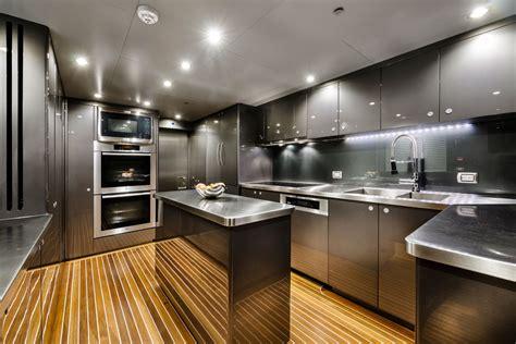 boat kitchen design zenith superyacht galley yacht charter superyacht news 1752