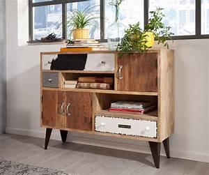 Sideboard 120 Cm : wolf m bel sideboard himalaya 120 cm mango natur 3 sch be 3 t ren sideboards 12012 online ~ Watch28wear.com Haus und Dekorationen