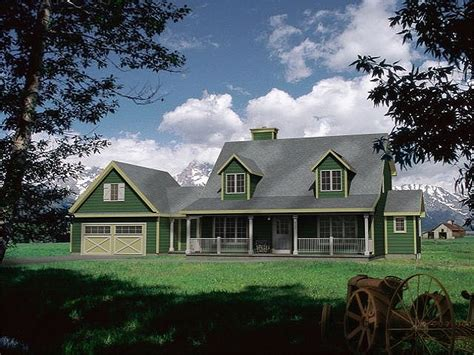 House Plans With Porches And Dormers