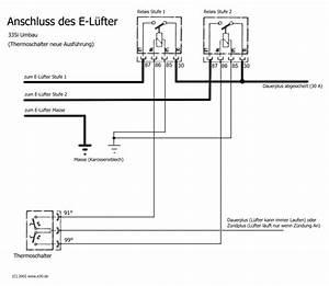 Lichtschalter Schaltplan E30 : e l fter richtig anschlie en elektrik e30 ~ Haus.voiturepedia.club Haus und Dekorationen