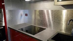 amazing credence autocollante pour cuisine 5 plaque With credence de cuisine autocollante