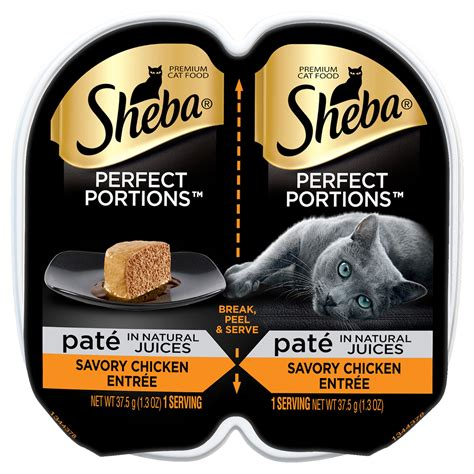 Sheba Perfect Portions Chicken Entree Wet Cat Food Trays