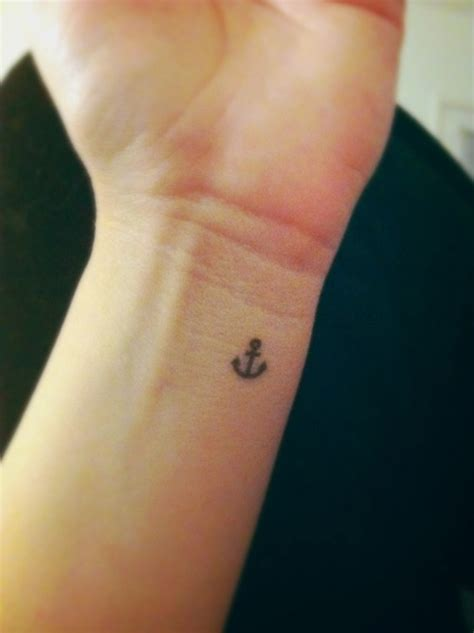small anchor wrist tattoo ink pinterest anchor wrist