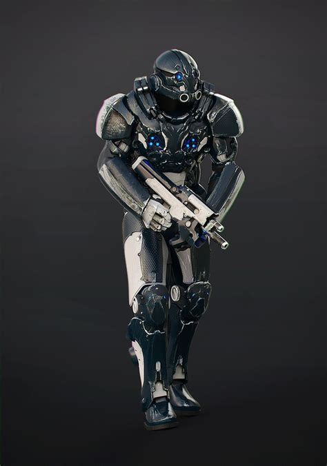 Space Soldier Armor