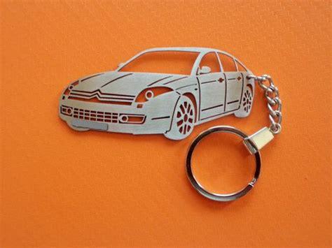 Citroen C6 Key Chain, Car Keychain, Keychain For Citroen