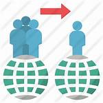 Migration Icon Premium Icons Svg