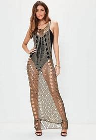 Metallic Bronze Dress