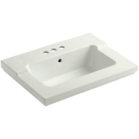 kohler tresham vanity top sink kohler tresham 25 7 16 in vitreous china single vanity