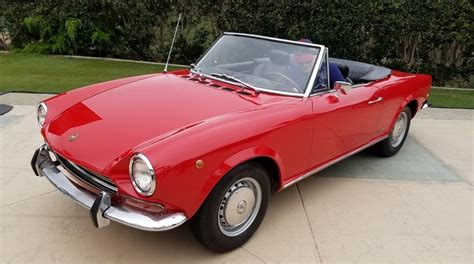 1968 Fiat Spider by Drive Review 2017 Fiat 124 Spider