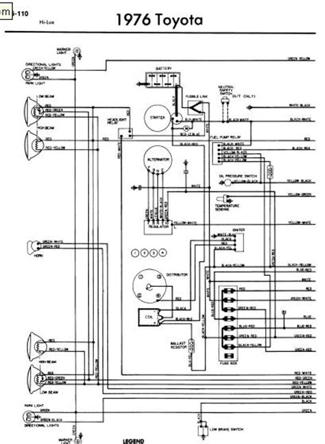 toyota hilux kd ftv wiring diagrams