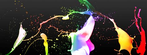 paint colorful colorful paint dual screen by apocalypsemedia on deviantart