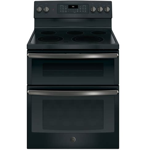 ge   standing electric double oven convection range quality rental stores