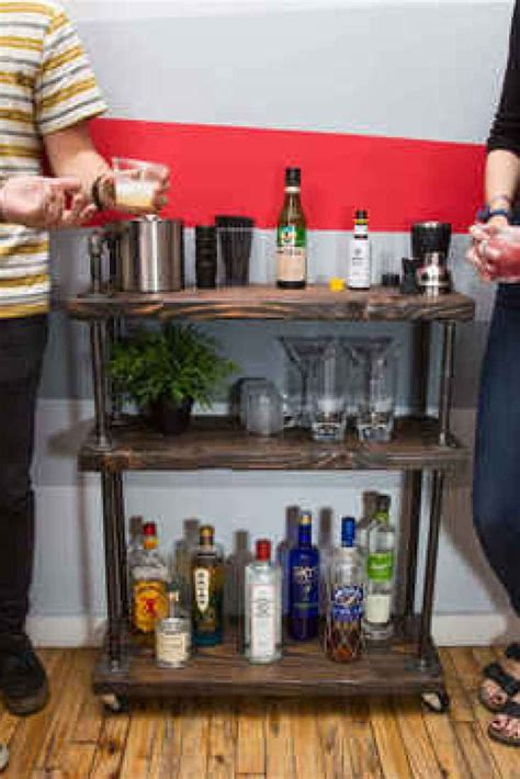diy  bar cart  cheap diy bar bar  bar carts