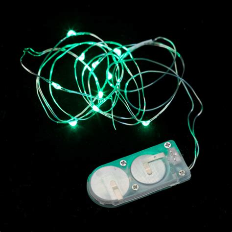 10 micro led green submersible string light