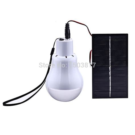 solar powered led lighting light l 1 bulb solar panel