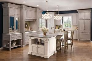 Kitchen luxe transitional photo 181 kraftmaid photo for Kitchen colors with white cabinets with candles holders for weddings