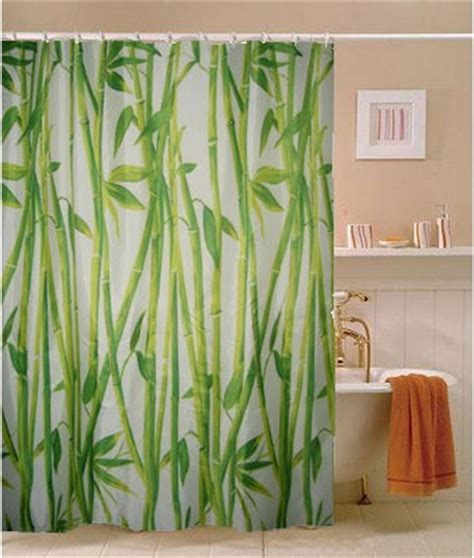 bamboo shower curtain east bamboo grove fabric shower curtain m3005