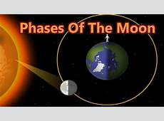Lunar Cycle, Why The Moon Change Shapes, 8 Phases Of The