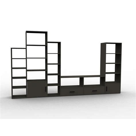 bureaux d angle meuble tv à configurer bibliothèque caissons et