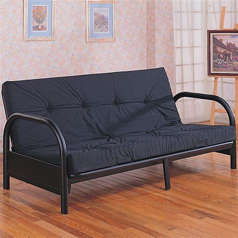 bed with mattress futon frames