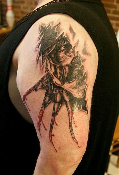 nightmare  elm street tattoos nightmare  elm