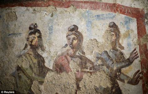 Vatican Unveils Frescoes In Catacombs Of Priscilla With