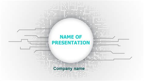 Tech Themes Free Free Tech Powerpoint Theme For Presentation
