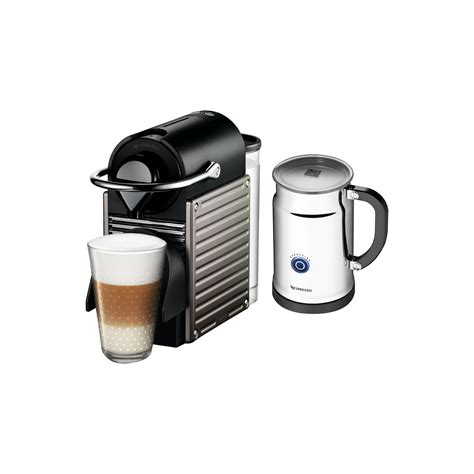 All that's needed is some milk to start making that delicious foam to top your. Nespresso Pixie Espresso Maker with Aerocinno & Milk Frother & Reviews | Wayfair