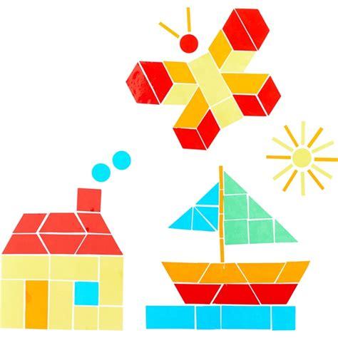Bild Geometrische Formen by Sachenmacher Fr 246 Bel Fensterfolie Geometrische Formen