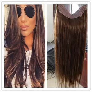 Cheap Grade 8a Human Flip In Halo Hair Extensions 100