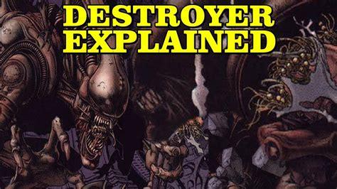 largest xenomorph destroyer alien explained