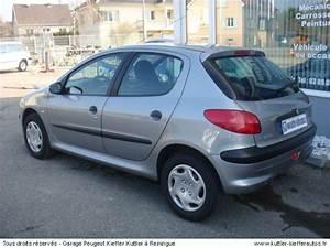 Peugeot 206 Essence : peugeot 206 1 6l xt premium 5pt essence 2002 occasion auto peugeot 206 ~ Medecine-chirurgie-esthetiques.com Avis de Voitures