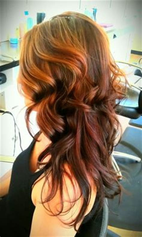 reverse ombre  growing   dark colored hair