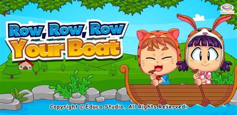 Row Your Boat Toys by Song Row Your Boat Educa Studio Learning
