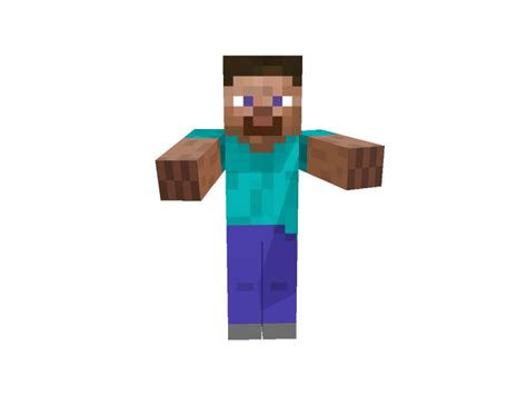 Statue Of Steve Minecraft Project