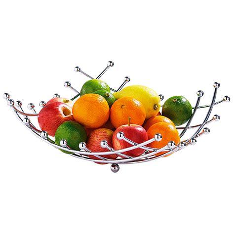 corbeille panier 224 fruits en m 233 tal chrom 233